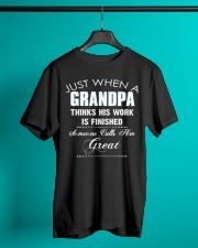 Great-Grandpa Special Classic T-Shirt lifestyle-mens-crewneck-front-3
