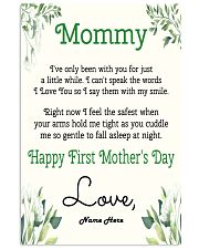 Mommy First Mother's Day 11x17 Poster front
