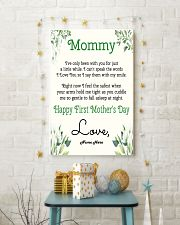 Mommy First Mother's Day 11x17 Poster lifestyle-holiday-poster-3