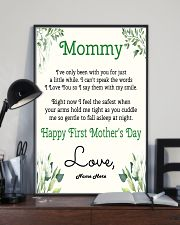 Mommy First Mother's Day 11x17 Poster lifestyle-poster-2