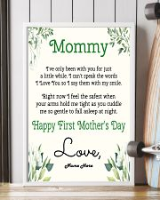 Mommy First Mother's Day 11x17 Poster lifestyle-poster-4