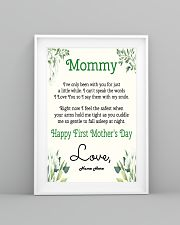 Mommy First Mother's Day 11x17 Poster lifestyle-poster-5