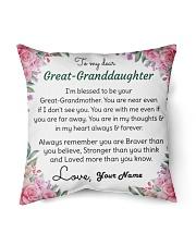 Dear Great-Grandson Indoor Pillow tile