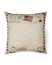 """To My Beautiful Great-Granddaughter Indoor Pillow - 16"""" x 16"""" back"""