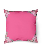 """Mommy First Mother's Day  Indoor Pillow - 16"""" x 16"""" back"""