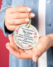 Great-Grandparents Special Circle ornament - single (porcelain) aos-circle-ornament-single-porcelain-lifestyles-01
