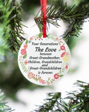 Great-Grandparents Special Circle ornament - single (porcelain) aos-circle-ornament-single-porcelain-lifestyles-07