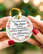 Great-Grandparents Special Circle ornament - single (porcelain) aos-circle-ornament-single-porcelain-lifestyles-08