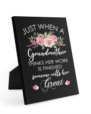 Great-Grandmother Special Canvas Easel-Back Gallery Wrapped Canvas tile