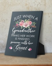 Great-Grandmother Special Canvas 8x10 Easel-Back Gallery Wrapped Canvas aos-easel-back-canvas-pgw-8x10-lifestyle-front-09