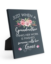 Great-Grandmother Special Canvas 8x10 Easel-Back Gallery Wrapped Canvas front