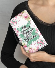 Greatest Blessings Call Me Great-Grandma Women's Clutch Purse Vertical aos-women-clutch-purse-lifestyle-front-04