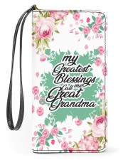 Greatest Blessings Call Me Great-Grandma Women's Clutch Purse Vertical front