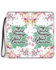 Greatest Blessings Call Me Great-Grandma Women's Clutch Purse Vertical full