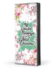 Greatest Blessings Call Me Great-Grandma Womens Leather Wallet tile