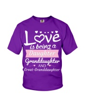 GREAT-GRANDDAUGHTER Youth T-Shirt front