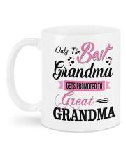 Only The Best Grandma Mug back