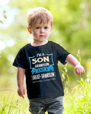 I'M A GREAT-GRANDSON Youth T-Shirt lifestyle-youth-tshirt-front-5