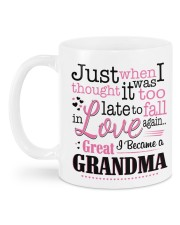 I Became a Great-Grandma Mug back