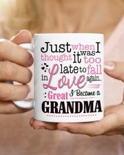 I Became a Great-Grandma Mug ceramic-mug-lifestyle-66