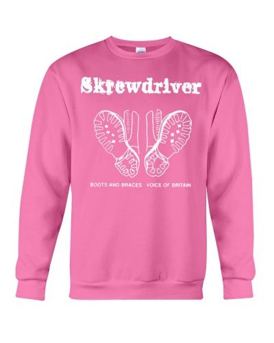 skrewdriver t shirt