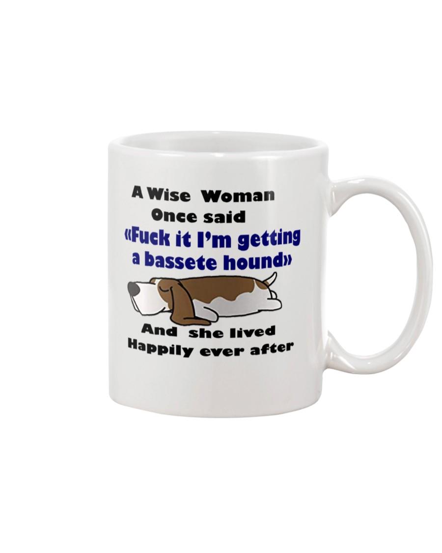Mug basset hound Awise Woman  Mug