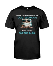 OLD OWLS Teeshirt Classic T-Shirt front