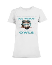 OLD OWLS Teeshirt Premium Fit Ladies Tee thumbnail