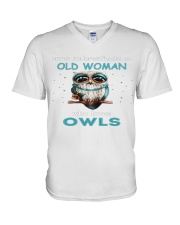 OLD OWLS Teeshirt V-Neck T-Shirt thumbnail