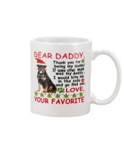 Rottweiler-mug-happy Mug front