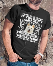 White German Shepherd If you don't  Classic T-Shirt lifestyle-mens-crewneck-front-4