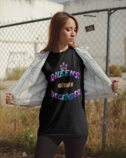 Queens Are Born in December LIMITED EDITION Classic T-Shirt apparel-classic-tshirt-lifestyle-07