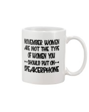 November Women Speakerphone Mug thumbnail