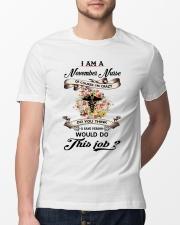 November Nurse Job Classic T-Shirt lifestyle-mens-crewneck-front-13