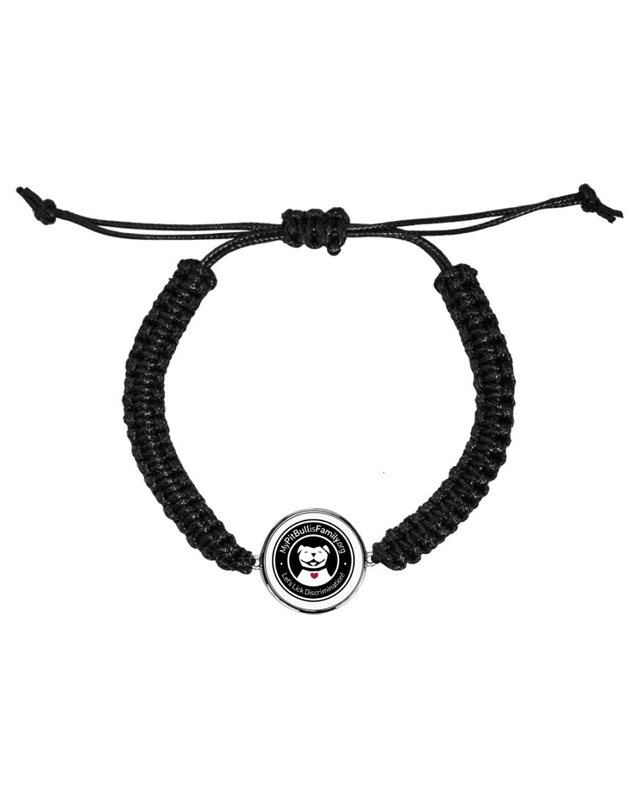 My pitbull family Cord Circle Bracelet