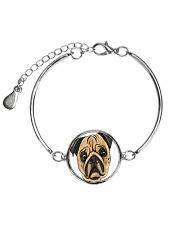 Jewelery pugs Metallic Circle Bracelet thumbnail