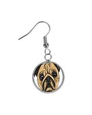 Jewelery pugs Circle Earrings thumbnail