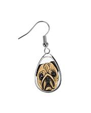 Jewelery pugs Teardrop Earrings thumbnail
