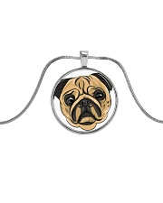 Jewelery pugs Metallic Circle Necklace thumbnail