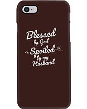 Blessed by God Spoiled by My Husband Phone Case thumbnail