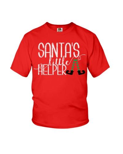 Santa's Little Helper - Youth T-shirt