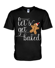 Let's Get Baked - Holiday Exclusive V-Neck T-Shirt thumbnail