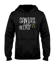 Santa's Little Helper Hooded Sweatshirt thumbnail