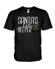 Santa's Little Helper V-Neck T-Shirt thumbnail