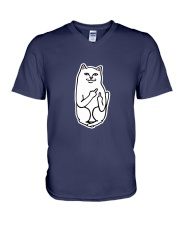 Lord Nermal Cat T-shirt V-Neck T-Shirt front