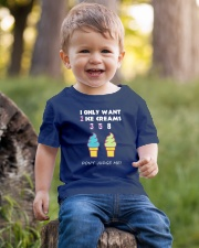 I Only Want Ice Creams Youth T-Shirt lifestyle-youth-tshirt-front-4