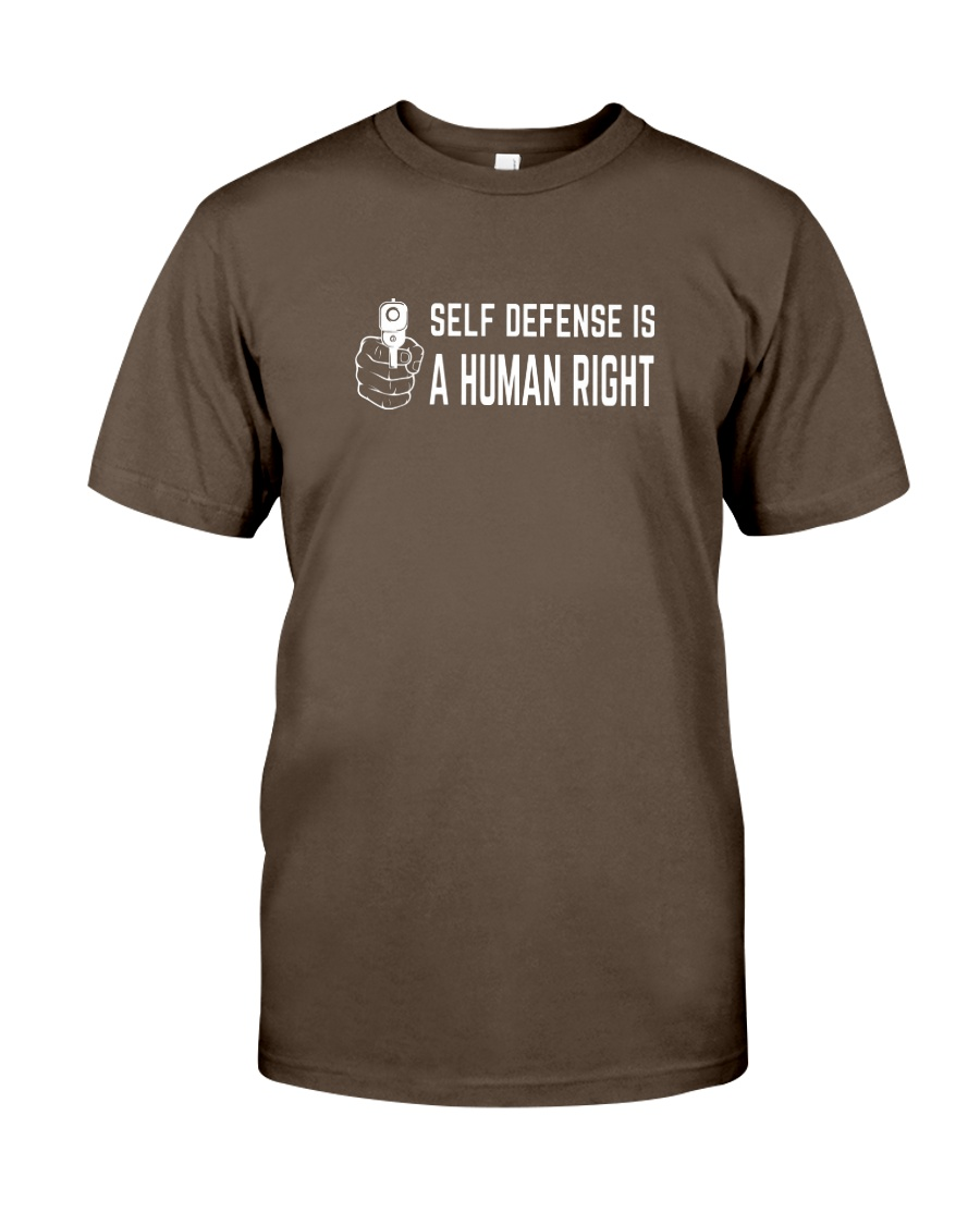 Self Defense is a Human Right Premium Fit Mens Tee