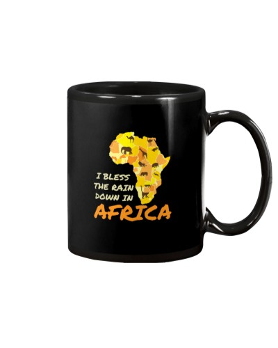 I Bless The rains Down In Africa Funny Gifts