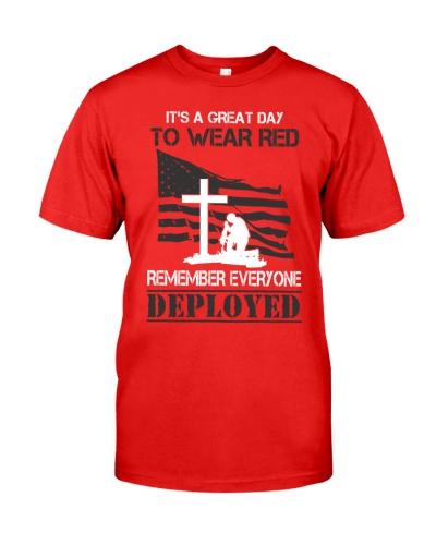 We Wear Red On Friday America's Fallen Heroes