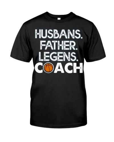 Husband Father Legend Coach